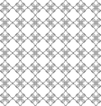 Seamless pattern with stylized flower in oriental vector image vector image