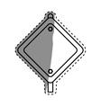 Under construction advertising board vector image