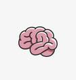 brain icon cartoon style vector image
