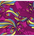 seamless pattern in purple vector image vector image
