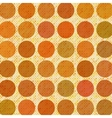 Orange abstract retro background vector image vector image