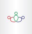 boss leaderchip symbol design vector image