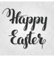Happy Easter lettering Concept can be used for vector image