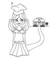 Bay Bay School vector image