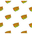 wtf comic text sound effect pattern seamless vector image