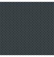 Silver metallic grid background pattern vector image