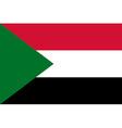 Flag of Sudan vector image