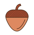 maple seed isolated icon vector image