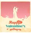 Retro Love Background vector image vector image