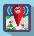 Gps Colorful Navigation Logo vector image