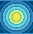 Abstract background with round layers vector image