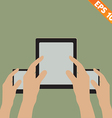 Bring Your Own Device concept - - EPS10 vector image vector image