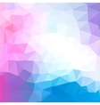 Triangles pattern of geometric shapes Colorful vector image