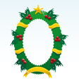 christmas ornament vector image vector image