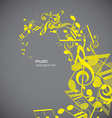 Abstract backgrounds with grey tunes vector image