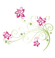 Summer time flowers vector image vector image