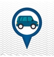 car location design vector image