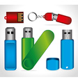 USB design vector image