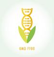 GMO free icon symbol desig vector image