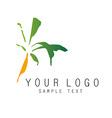 Palm logo vector image