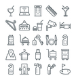 Hotel and Restaurant Cool Icons 3 vector image