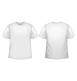 White shirt vector image
