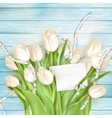 Blank greeting card EPS 10 vector image