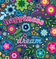 Happiness and dream vector image