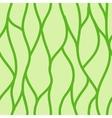 Green seamless abstract hand-drawn pattern vector image vector image