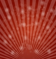 Abstract bokeh on red background vector image