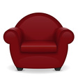 armchair 01 vector image vector image