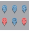 arrows in isometric vector image