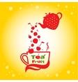 Tea fruit vector image