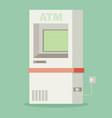 atm machine - vector image