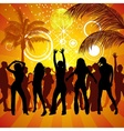 exotic party vector image