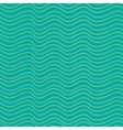 Abstract seanless pattern with waves vector image vector image