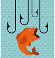 great fishing design vector image