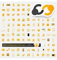 Set of business stickers vector image
