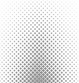 Black and white thorn pattern background vector image
