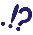 image of punctuation marks vector image