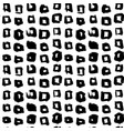 square hand drawn seamless pattern vector image vector image