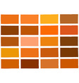 Orange Tone Color Shade Background vector image