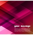 Abstract triangle background for Your Text vector image