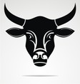 Cow Head Mascot vector image
