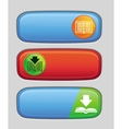 download button for electronic book vector image
