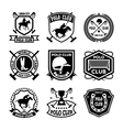 Polo Badges vector image