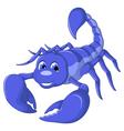 scorpion cartoon for you design vector image