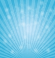Abstract bokeh on light blue background vector image