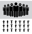 Business man Architect engineer worker icon se vector image
