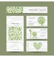 Healthy food set sketch for your design vector image vector image